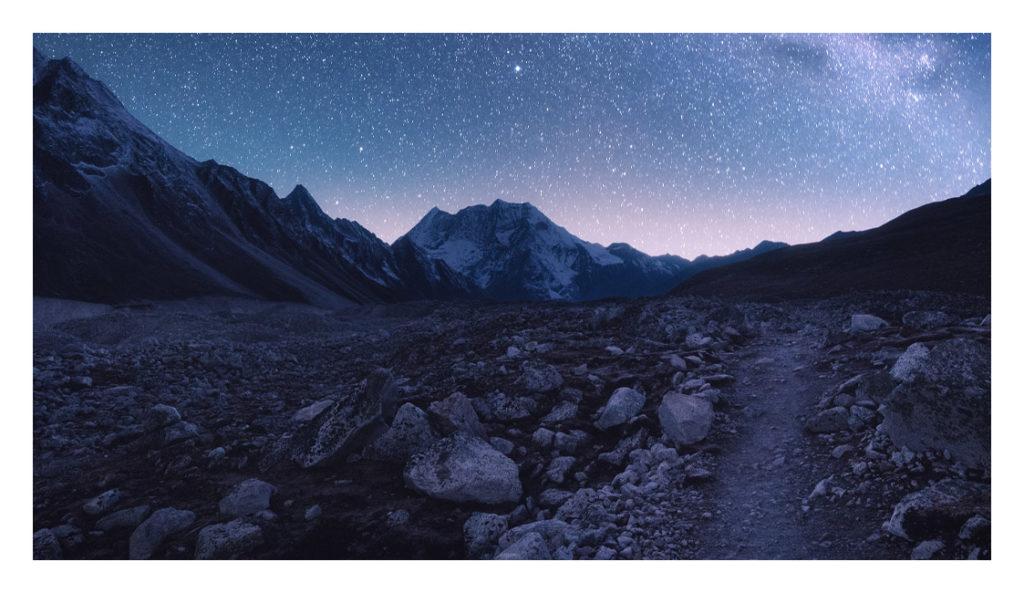 fotografieren-bei-nacht-berge-bei nacht