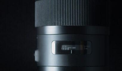 manuell fokussieren Objektiv Cover