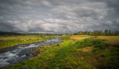 Orton Effekt Landschaft Cover