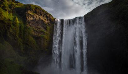 Wasserfall fotografieren Iceland Cover