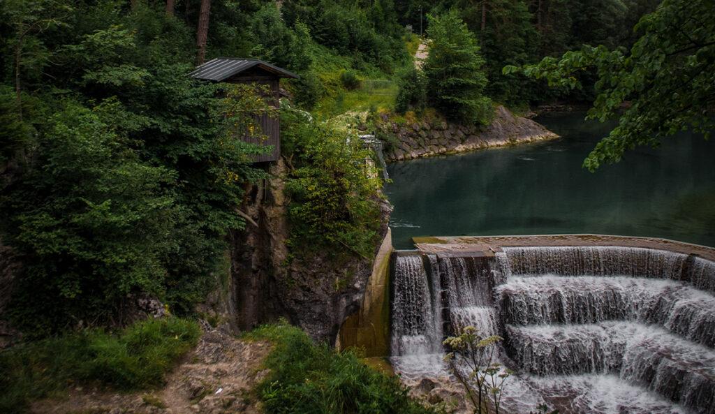 Wasserfall fotografieren Lechfall