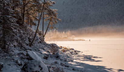 Eibsee im Winter Cover