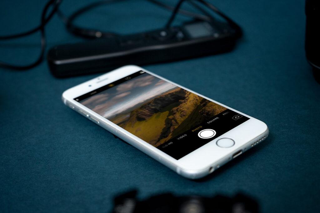 Apps für Landschaftsfotografie Location finden