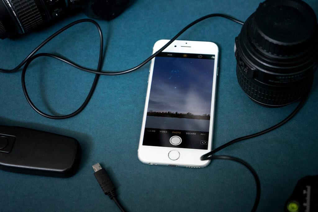 Apps für Landschaftsfotografie Astro