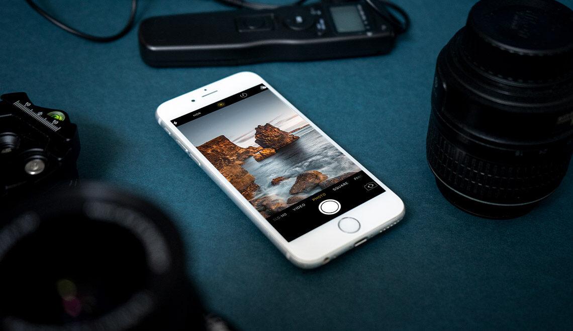 Apps für Landschaftsfotografie Cover